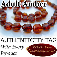 Rare Misty Green RAW BALTIC AMBER ADULT NECKLACE AGbA Certified Maximum Effect