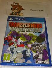 Transformers devastación PS4 Nuevo Sellado UK PAL versión juego Sony PlayStation 4