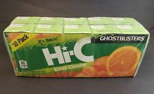 HI-C Ghostbusters ECTO COOLER Limited EditionJuice Box Sealed Pack Of 10