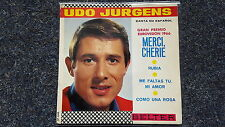 "Udo von-merci, Cherie/rubia 7"" EP single sung dans spanish"