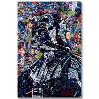 Darth Vader Star Wars Movie Canvas Poster Wall Art Print Decor 12x18 24x36inch