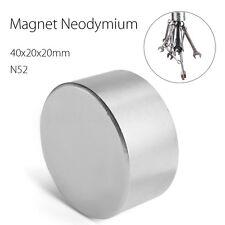Block 40x40x20mm Super Strong N52 High Quality Rare Earth Neo Magnet Neodymium