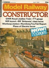 MODEL RAILWAY CONSTRUCTOR MAGAZINE - APRIL 1981 (MRC064)