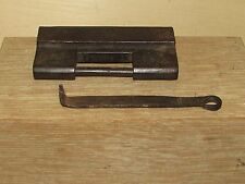 Antique Chinese or Korean Iron Cabinet Lock