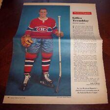 Gilles Tremblay # 2 issue Weekend Magazine Photos 1962 -1963 Toronto Star  # 2
