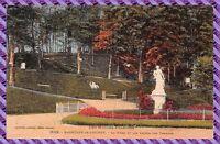 Carte Postale - Bagnère de Bigorre - la Muse et les lacets des Thermes