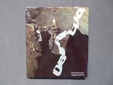 Buch Bildband, Überflug, Die DDR aus der Vogelperspektive, Brockhaus EA 1983