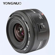 YONGNUO Wide-angle Fixed Auto Focus lens YN 35MM F2  For Canon EF EOS camera