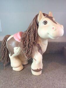 "Vintage Cabbage Patch Kids CRIMP 'N CURL Pony 12"" 1992 CPK Horse AK"