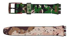 "ORIGINAL KIDROBOT BY SWATCH 17mm ARMBAND ""SWATCH - TIC TIC BOOM"" (AGB251) NEU"