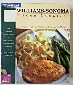 Guide to Good Cooking Williams Sonoma PC WIN MAC Software Complete Guide Big Box