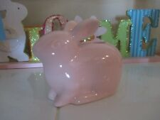 NEW- Yankee Candle EASTER Taper Candle Holder Little Pink Bunny Rabbit -Cute!!