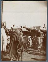 Tunisie, Enterrement musulman  Vintage citrate print. Photo J. Bougrier Série