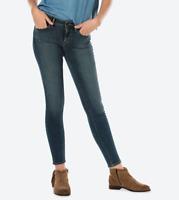 Levis Jeans 711 Destructed  Mid Rise Skinny Jeans Blue 31WX30L BNWT