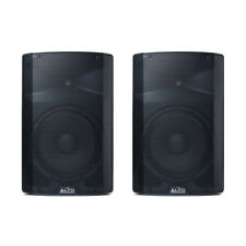 "2x Alto Professional TX212 Active 12"" Speaker 600W PA Sound System DJ Disco"