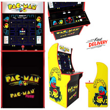 """Pacman Classic Home With Authentic Arcade Controls 4Ft Or 48"""" Cabinet Video Game"""