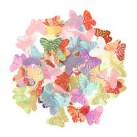 Metalic Sparkling Butterfly Shape Table Confetti Birthday Party Decoration