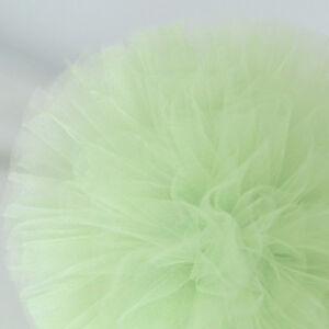 Light green tulle pom pom - tutu - wedding party decorations - nursery decor