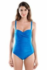 Bandeau Patternless Swimming Costumes for Women