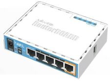 MIKROTIK RB952Ui-5ac2nD hAP AC Lite WiFi Router/AP 2ghz/5ghz 5xLAN, USB, POE-in
