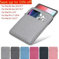 """Tablet Case Sleeve Bag Cover Protective Pouch For 2018 iPad mini Air Pro 7.9-11"""""""