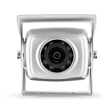 Carmedien Aufbau Rückfahrkamera CM-NESK Rückfahr Kamera für Wohnmobil weiß