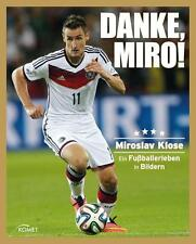 Danke, Miro! Buch Fußball, Miroslav Klose, 2014, NEU & OVP