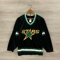 Vintage Dallas Stars CCM Maska NHL Hockey Jersey Mens Size Large Custom Chudy #1
