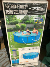 Bestway Steel Pro Max 12ft x 39in Frame Above Ground Swimming Pool Set with Pump