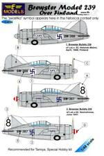 LF Models Decals 1/48 BREWSTER MODEL 239 BUFFALO OVER FINLAND
