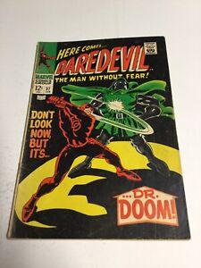 Daredevil 37 Vg+ Very Good+ Very Good+ 4.5 Marvel Comics