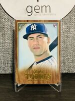 2019 Topps Gallery GLEYBER TORRES RC Wood Parallel #89 New York Yankees
