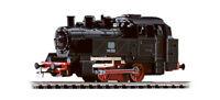 PIKO 50500 locomotiva a vapore BR 98 003 delle DB NERA TELAIO ROSSO