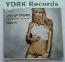 BRITNEY SPEARS feat MADONNA - Me Against The Music - Ex Con CD Single Jive