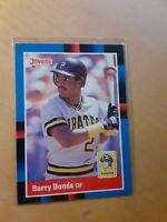 Barry Bonds 1988 Donruss #326 Pittsburgh Pirates Baseball Card, SF Giants, HR,OF