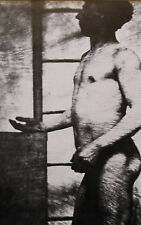 """Nude male mounted vintage photo print, 10 x 8"""", gay interest NP05"""