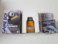 Game Boy Camera couleur jaune - Nintendo Gameboy - Boite PAL FR - Complète