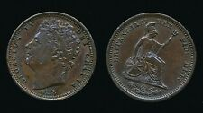 More details for george iv 1828 half farthing (reverse a).....rare
