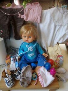 Lot poupée poupon Cicciobello bobo avec accessoires vêtements Giochi Preziosi