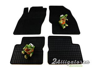 4 x Gummi-Fußmatten ☔ für ALFA ROMEO MiTo seitdem 2008