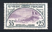"""FRANCE STAMP TIMBRE N° 152 """" ORPHELINS 35c+25c TRANCHEE DRAPEAU """" NEUF x TB T074"""