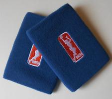 Nike Wnba para Dama Dri-Fit Muñequeras un Par Cancha Azul Talla Osfm
