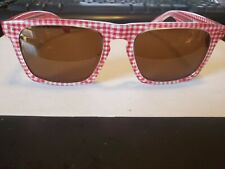 NEW Mosley Tribes Lyndel Red 53-20-142  Sunglasses PERFECT AUTHENTIC