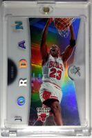 2006 06-07 FLEER EX Michael Jordan ACETATE #4! Rare Refractor Like, Premium MJ!