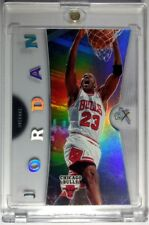 2006 07 06/07  FLEER EX MICHAEL JORDAN ACETATE NUMBERED #4! Rare Premium MJ!
