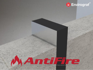 Intumescent Fire Rated Expansion Joint 1000mm Lengths - Fire Stopping Fire Proof