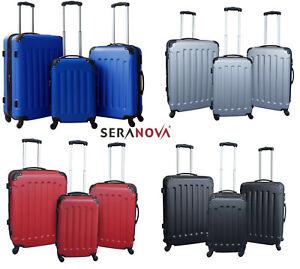 Koffer Trolley Reisekoffer Hartschale Polycarbonat 3er Set 4 Farben