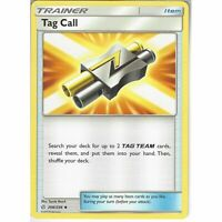 Tag Call 206/236 Trainer Card x4 Playset (Pokemon Cosmic Eclipse)