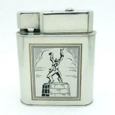 Vintage German? Push Button Automatic Table Lighter With GREAT GRAPHICS Working