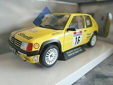 PEUGEOT 205 Rallye 1.9 Tour de Corse #16 Doenlen Shell 1990 Gr.A Solido NEU 1:18